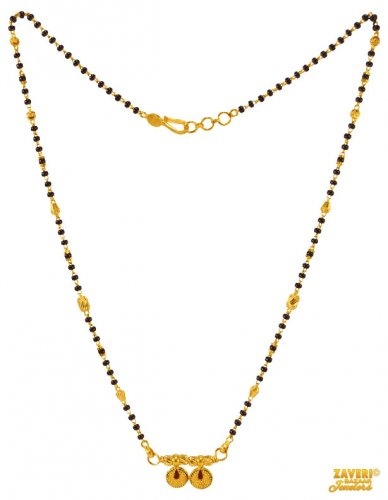 22K Yellow Gold Mangalsutra