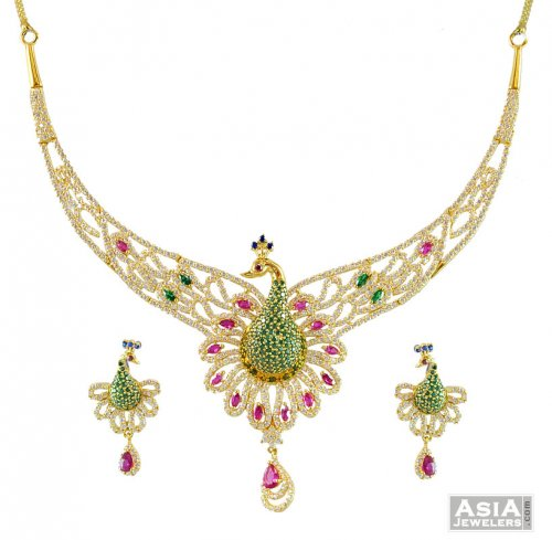 ladies bridal necklace jewellery eastern gold set