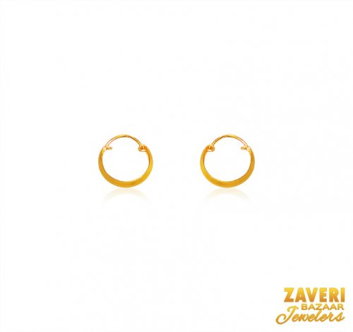 22 Karat Gold Earrings