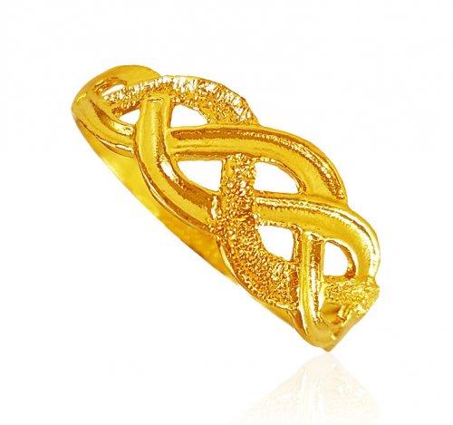 22kt Gold Platinum: 22KT Gold Ladies Ring