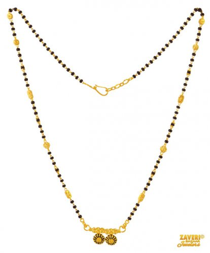 Indian Gold Mangalsutra 22K