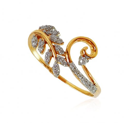 18Karat Yellow Gold Diamond ring