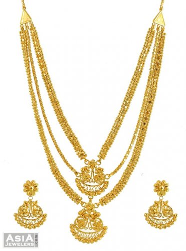 jewellers modi gold product necklace set