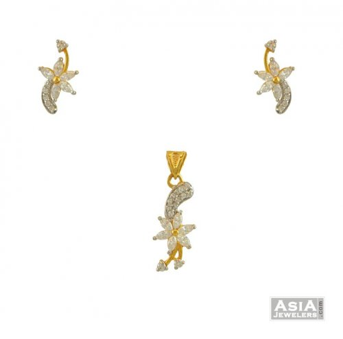 22k pendant set small ajps54866 22k gold small pendant 22k pendant set small aloadofball Choice Image