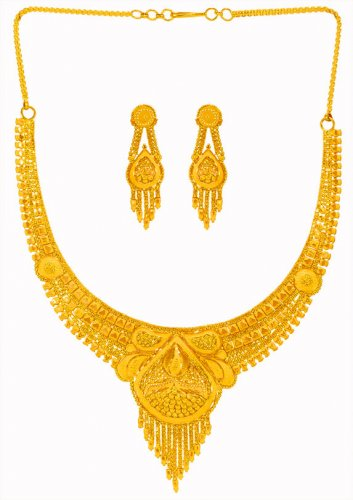 22KT Gold Necklace Set