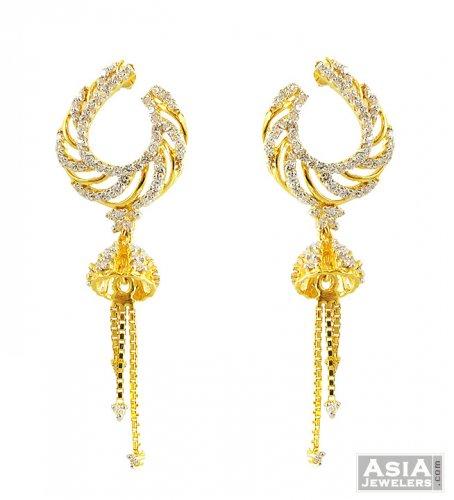 Exclusive Studded Jhumka Earrings