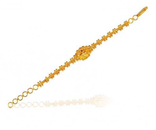 22k Filigree Baby Bracelet