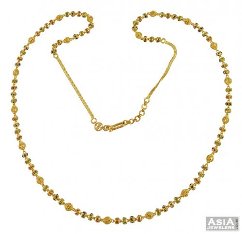 necklace chains gold details chain ladies indian long fancy