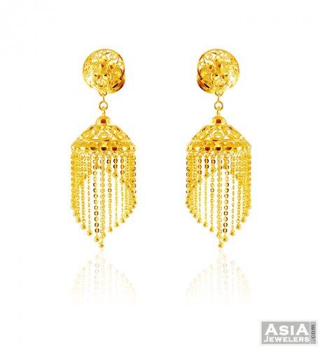 22k Gold Fancy Jhumki