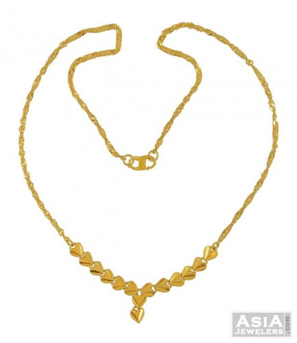 chains dokia fancy indian necklace gold chain details yellow