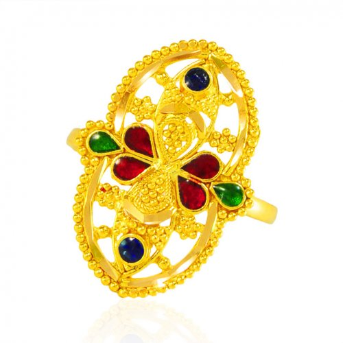 22kt Gold Ring for Ladies