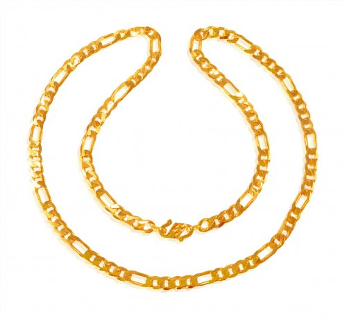 22K Gold Chain 22In