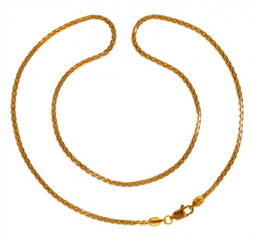 22kt Gold Box Chain (18 inches)