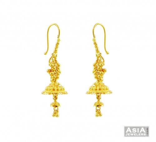 ... Paisely Pearl Kundan Jhumka Indian ADIVA Earrings ab95   eBay