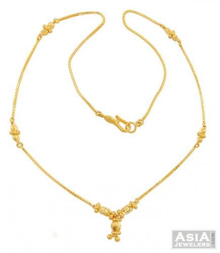 Indian Gold Chain 22 Karat