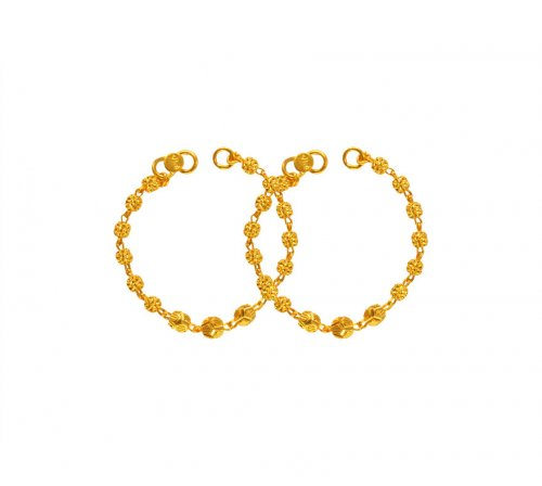 22 Karat Gold Maniya (2PC)