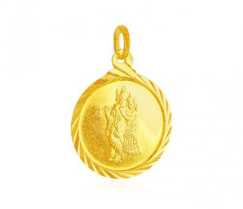 Gold radha krishna pendant ajpe61356 22k gold round pendant gold radha krishna pendant aloadofball Gallery