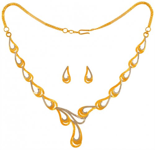 22Karat Gold Light Necklace Set