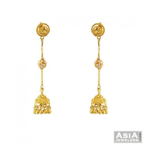 Gold Earrings  Buy 2500 Gold Earring Designs Online in