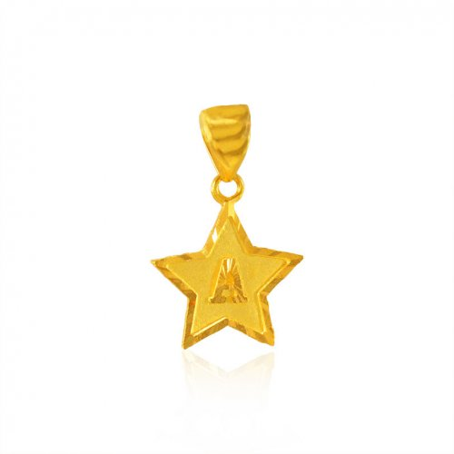 Gold Signity Pendant (A)