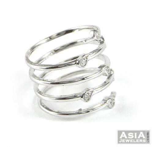 diamonds rose leaf fascinating gold with diamond spiral rings inspired jewelry nature rg in ring white