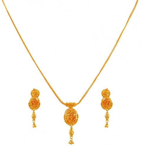 light india naj jewels weight with south lakshmi pendant pachi necklace
