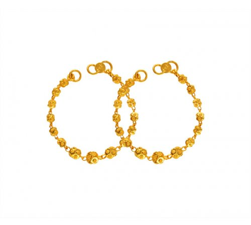 22K Gold Kids Maniya (2PC)