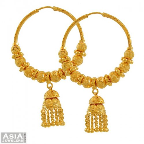 Indian Style Fancy Bali 22k AJEr52864 22k indian style