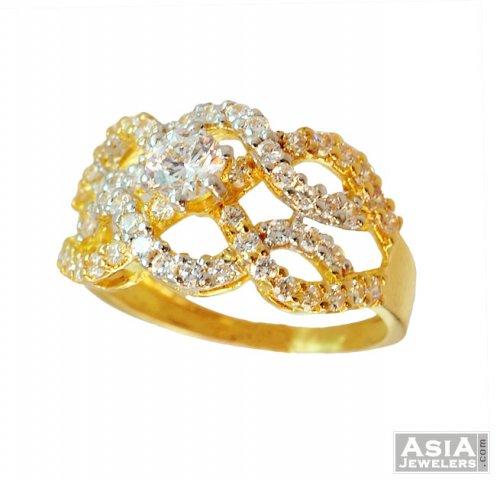 designer ring 22k gold asri56738 designer ring with