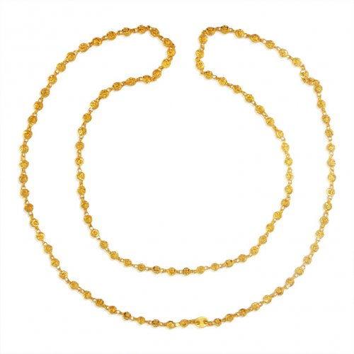 22Karat Gold Two Tone Chain for Women