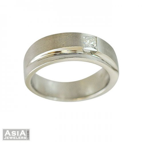 18k Exclusive Mens Diamond Ring