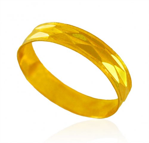 22Kt Gold Band for Ladies