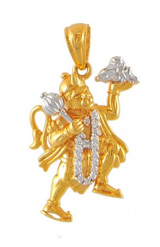 22k gold hanuman pendant ajpe51230 22k gold lord hanuman pendant 22k gold hanuman pendant aloadofball Image collections