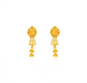 22KT Gold Earrings ( 22K Gold Earrings )