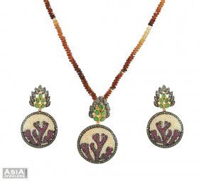 Nizam Diamond Pendant Set ( Nizam Collection (Victorian) )