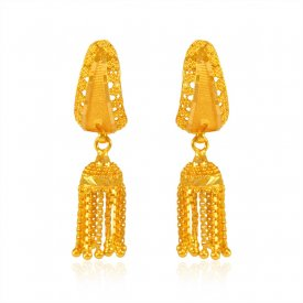 Fancy Indian 22K Earrings