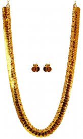 22 Karat Gold Kasulaperu ( 22K Necklace Sets (Long) )