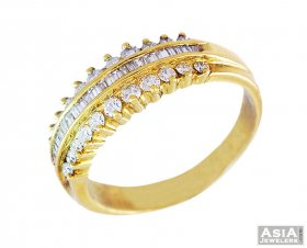Diamond Mens Ring(18k)