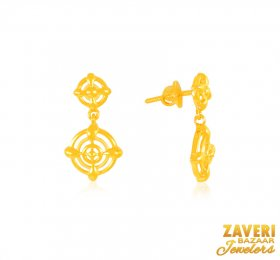 22 Karat Gold Earrings ( 22K Gold Tops )