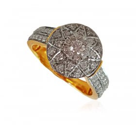 Exclusive Engagement 18K Gold Ring ( Diamond Rings (Ladies) )