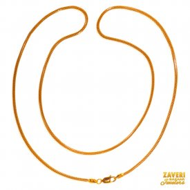 22 Karat Gold Two Tone Chain ( Gold Fancy Chains )