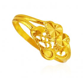 22KT Gold Ladies Fancy Ring ( 22K Gold Rings )