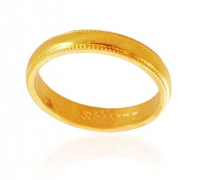 22K Gold Band ( Gold Wedding Bands )