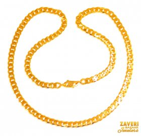 22 Kt Mens Chain (22 In)
