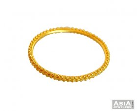 22K Gold Traditional Baby Bangle