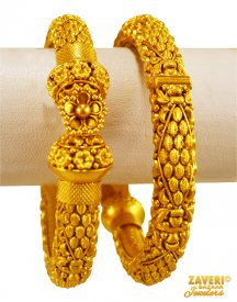 Antique Kadas 22 Karat Gold  ( 22K Antique Bangles )