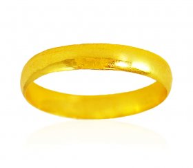 22kt Gold Plain hollow Band ( Gold Wedding Bands )