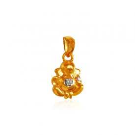 22 Karat Gold Ganesh Pendant ( Ganesh, Laxmi, Krishna and more )