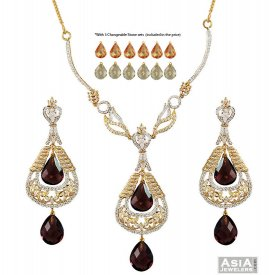 Changeable Stones Designer Set 22K