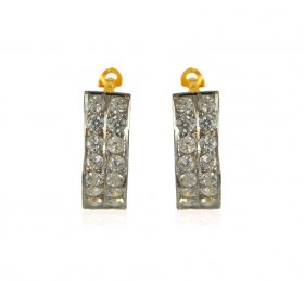 22K Gold Clipon Earring ( Gold Clipon Earrings )